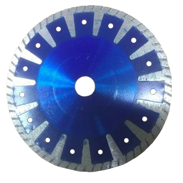 Hot-pressed T turbo saw blade